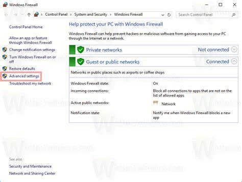 resetting windows firewall how to reset windows firewall in windows 10
