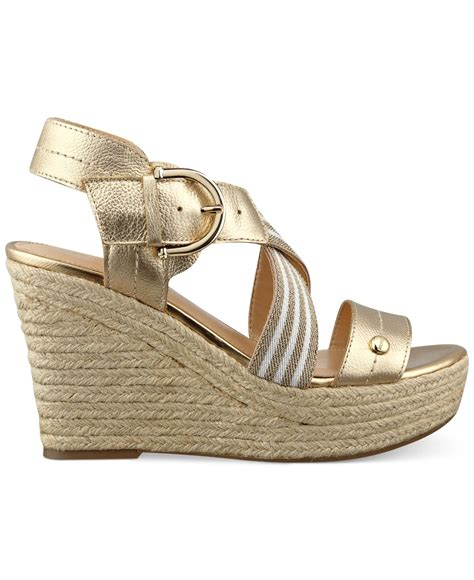 Hilfiger Wedges by Hilfiger S Ignacia Platform Wedge Sandals In