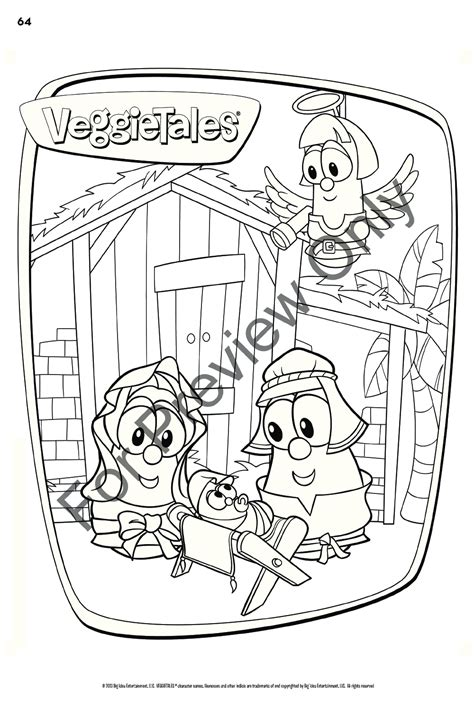 rockettes coloring page the incredible gigantic humongous veggietales c j w