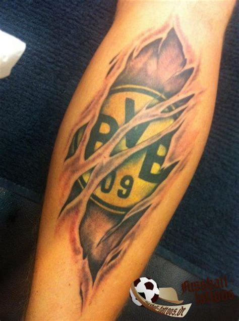 watercolor tattoo dortmund bvb fan http www marco reus trikot de