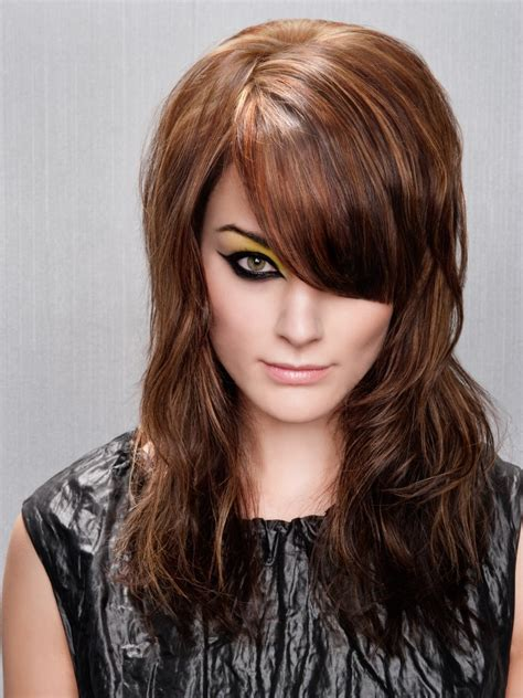 long hairstyle with lifted roots for light and elegant volume