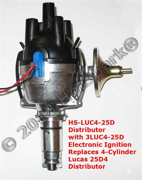 Electronic Ignition Conversion Kits For Lucas 4 Cylinder