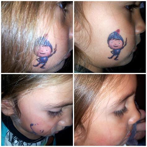 boy tattoos diy for mommies remove temporary tattoos