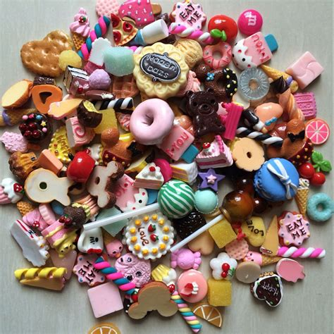 dolls house accessories cheap wholesale 1000pcs lot dollhouse miniature food set mini cakes donut candy biscuit for