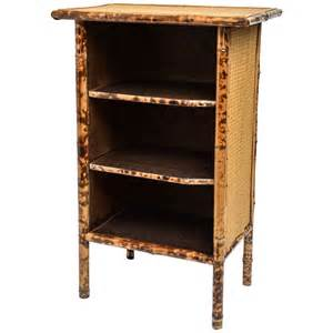 Rattan Bookcases 20th Century English Bamboo And Rattan Bookcase At 1stdibs