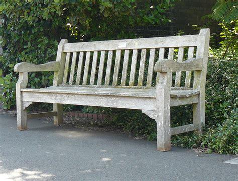 long garden bench quality generously set vintage teak garden park bench 6ft