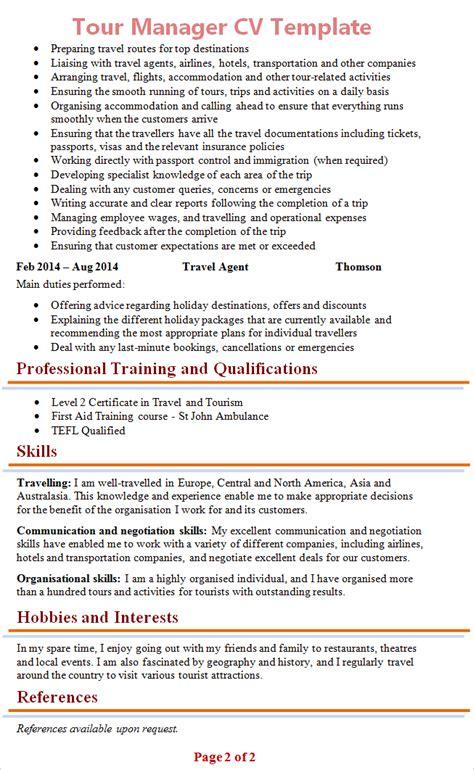 Tour Manager Resume by Resume Exles Negotiation Skills Resume Ixiplay Free Resume Sles