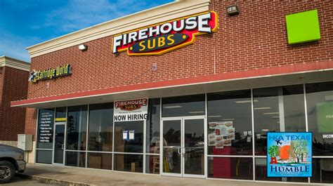fire house subs the new firehouse subs in humble texas is now hiring opening soon