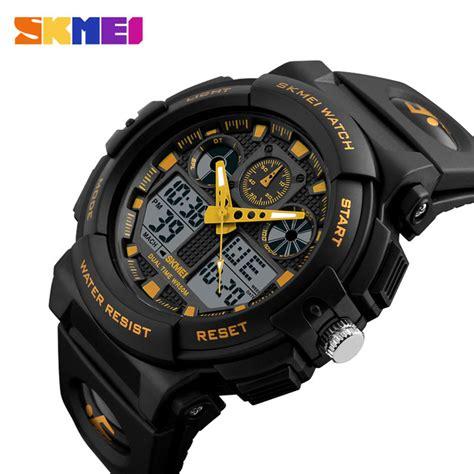 Jam Tangan Kademan Kd001 Blackgold skmei jam tangan analog digital pria ad1270 black gold
