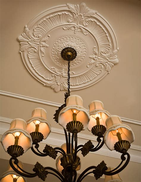 Ceiling Chandelier Medallion Ceiling Medallions And Large Ceiling Medallions