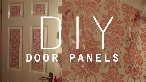 bedroom door decorations diy room decorations wallpaper door panels youtube