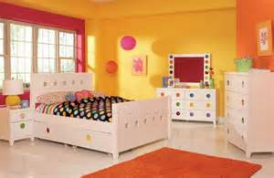 colorful bedroom furniture yellow wall paint color of bedroom decorating