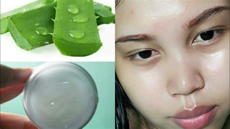 cara membuat wajah menjadi glowing cara membuat cream pelembab sendiri cream aloevera