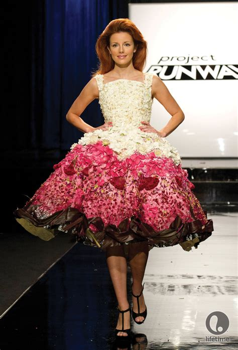 Frock Horror Of The Week Catwalk 9 by Gray Skies Project Runway Unconventional Materials Challenge