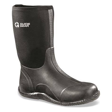 s rubber boots guide gear s mid bogger waterproof rubber boots