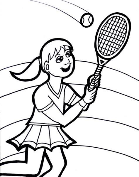 imagenes de niños jugando tenis para colorear im 225 genes de tenis para colorear tenistas para pintar
