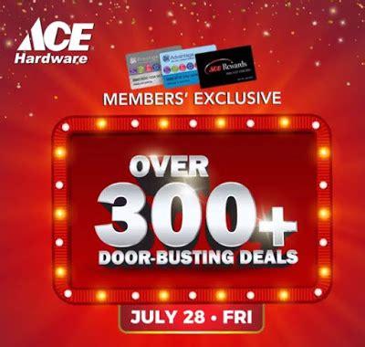 ace hardware boom sale 2017 manila shopper ace hardware one day door busting sale