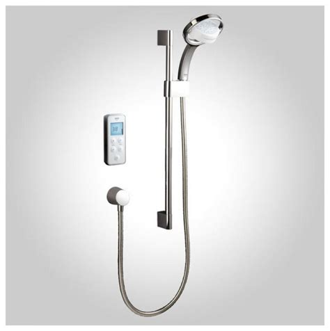 Remote Shower by Mira Vision Pumped Digital Mixer Shower And Remote Uk