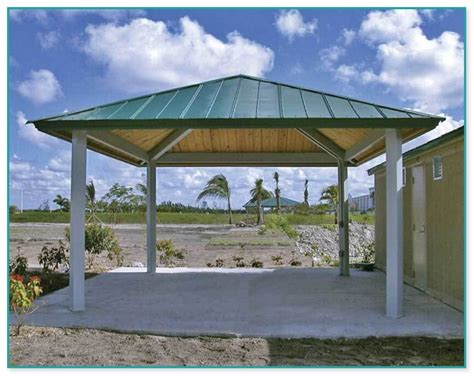 metal gazebo kit metal roof gazebo kits