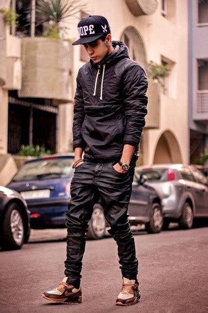 Zipper Hoodie Nike Swag Hitam jacket coat raincoat black jumpsuit swag jacket halfzip zip saveme ibegyou mens hoodie