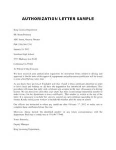 Authorization Letter Legal authorization letter legalforms org