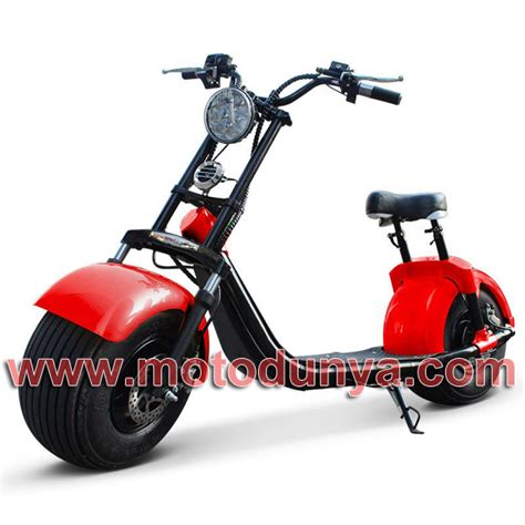 coco city scooter red moto duenya