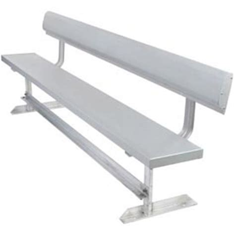 aluminum sport benches benches picnic tables benches aluminum aluminum benches with back