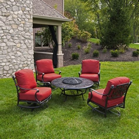 patio furniture pit set st augustine pit set