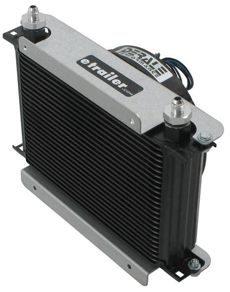 fluid cooler with fan derale hyper cool remote transmission cooler kit w fan