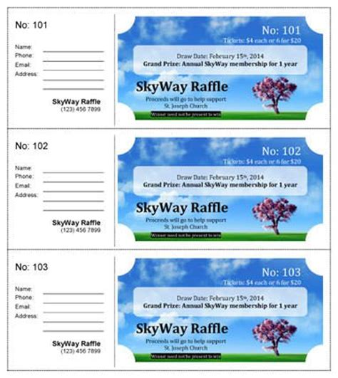 7 best images of avery printable event tickets avery 32 best raffle flyer and ticket templates images on