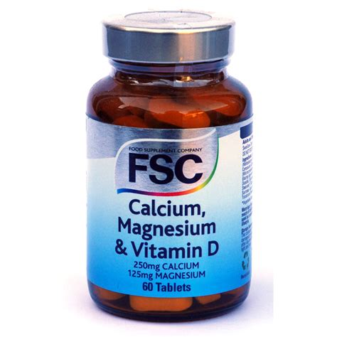 Vitamin Magnesium Calcium Magnesium And Vitamin D From Fsc Wwsm