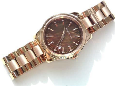 Micheal Kors Uhr by Michael Kors Damen Armband Uhr Chronograph Vergoldet