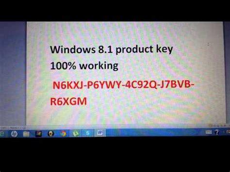 Windows 8 1 Pro Lisensi Activation 100 Original windows 8 1 product key 100 working