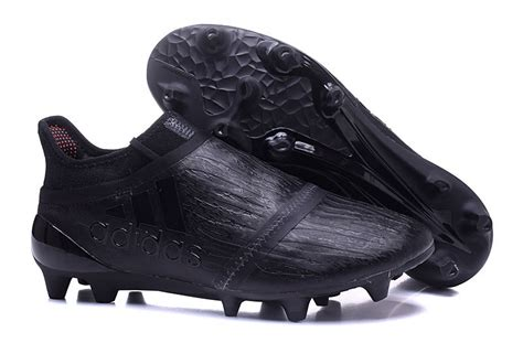 shop all black adidas x 16 purechaos fg ag football boots
