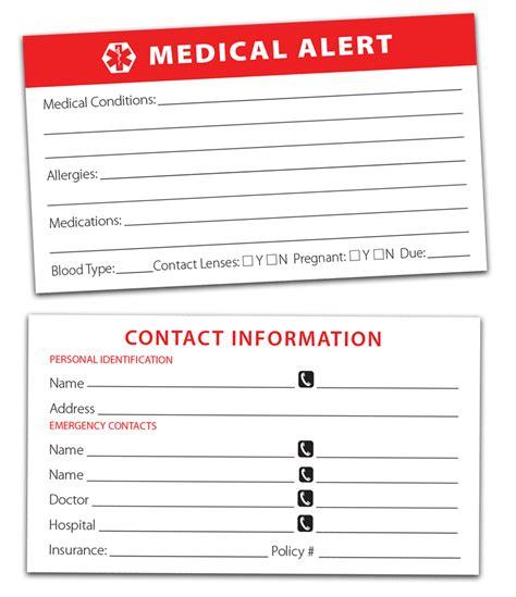 printable medical card divided drawer pill timer with bonus medical alert card