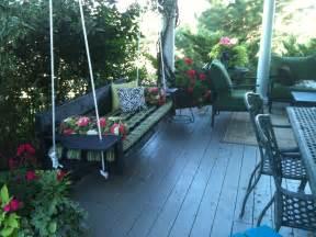 Patio Swing Modern Modern Oversized Porch Swing White Inspiration