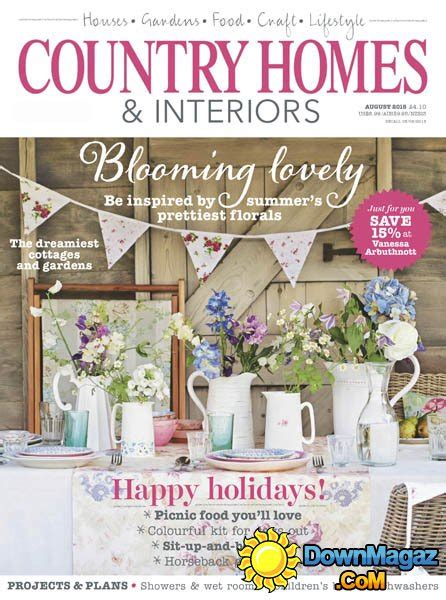country home design magazines country homes interiors august 2015 187 download pdf