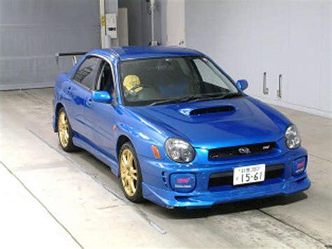 Subaru Wrx Sti 2002 by 2002 Subaru Impreza Wrx Sti For Sale Gasoline Manual For