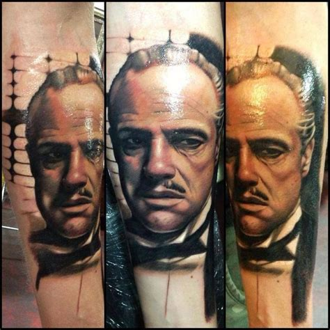 don corleone tattoo tattoos pinterest