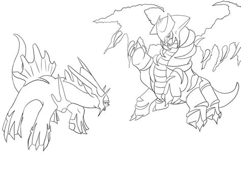 pokemon coloring pages giratina leftohighper pokemon coloring pages dialga