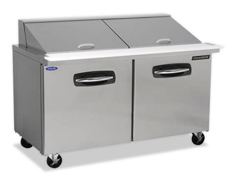refrigerated bar top nor lake nlsmp60 24 003 60 3 8 quot mega top refrigerated