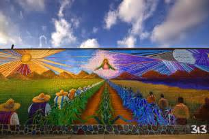 Mexican Wall Murals 4 6ft5 Wall Mural In Mexican Town Cityscape Amp Urban