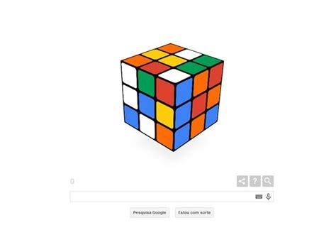 doodle do cubo magico g1 nos 40 anos do cubo m 225 gico faz homenagem na