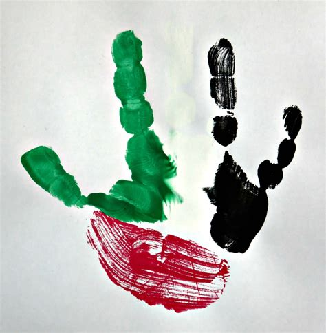 national color day uae flag day crafts and activities for toddlers and pre