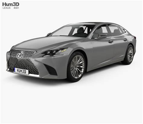 lexus model lexus ls 2017 3d model hum3d