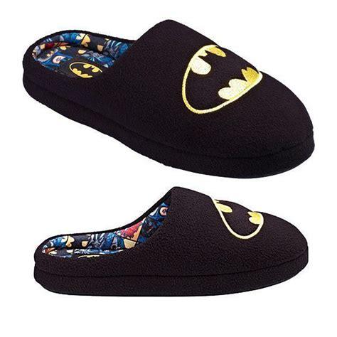 batman slippers mens official new dc comics batman gotham mules slip