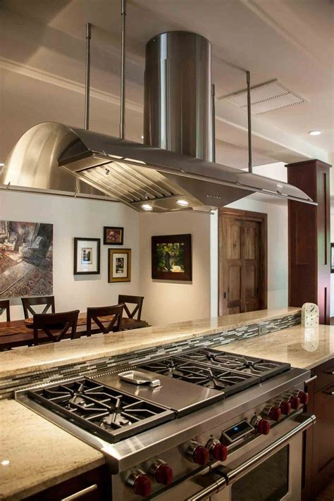 gas stove and hood fan 25 best ideas about island hood on pinterest