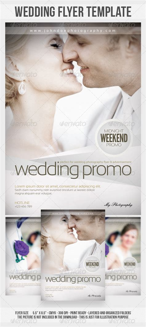 wedding photography flyer template graphicriver