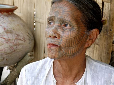 muslim face tattoo arts myanmar matters