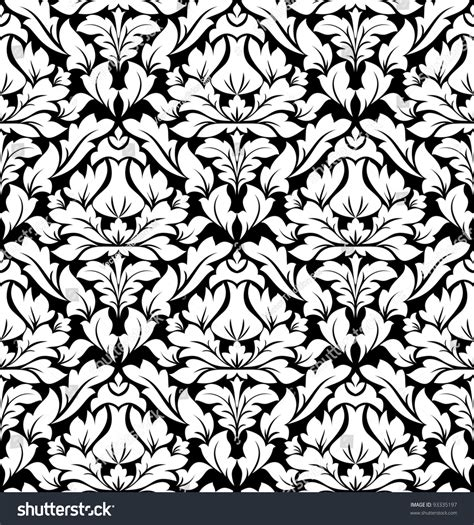 design pattern versioning seamless damask pattern background wallpaper design stock